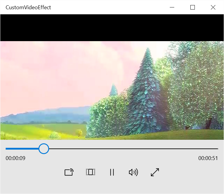 Playing a video file in UWP
